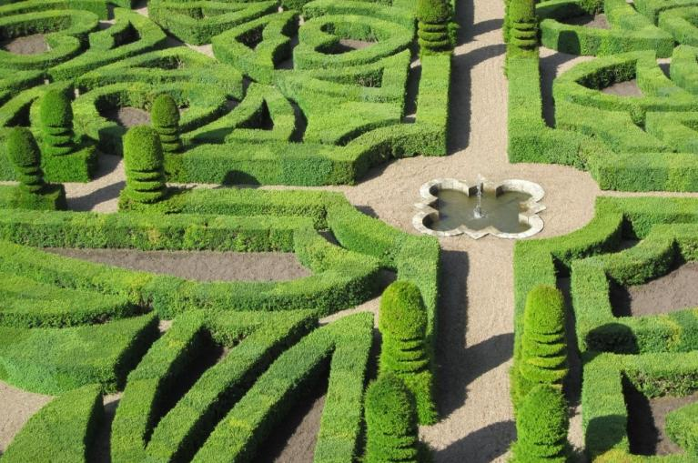 Castle of Villandry gardens