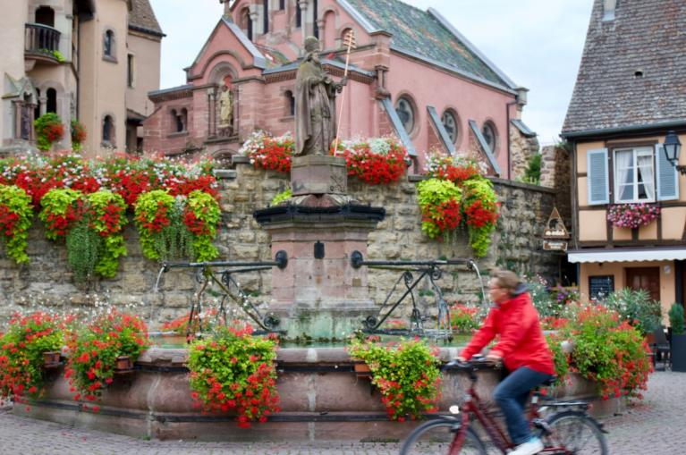Alsace cycling