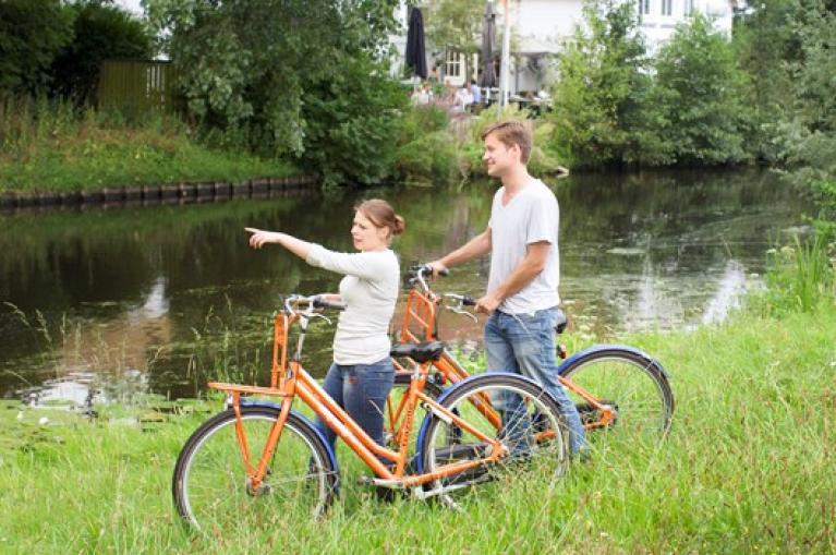 Cycling in Holland with kids