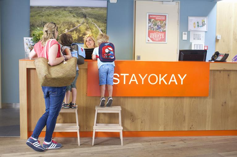 Kids in a Stay Okay Hostel