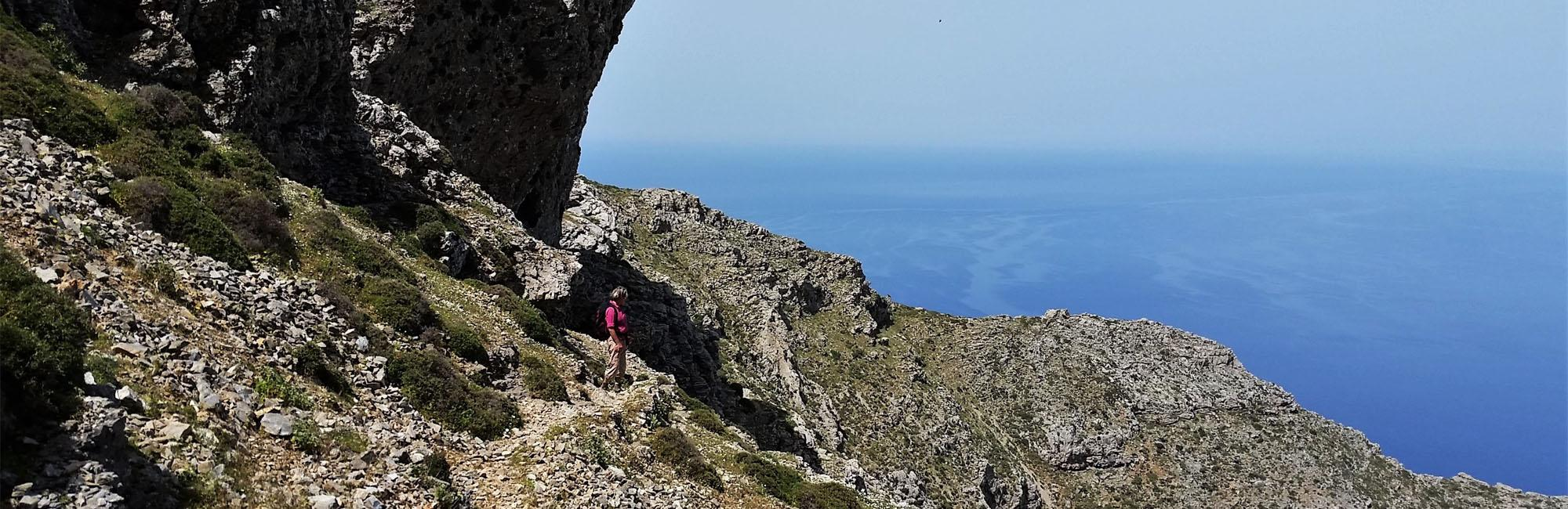 hiking in Amorgos island