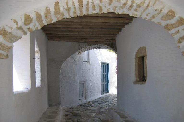 Typical architecture Amorgos