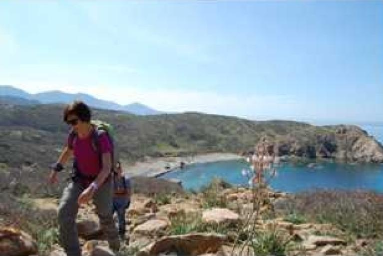Coastal walking in Sardinia