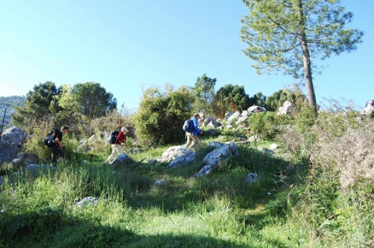Hikers in Grazalema