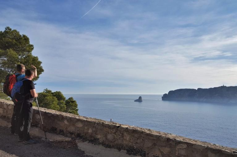Walking in La Costa Brava
