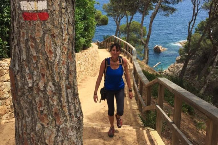 HIking in la Costa Brava