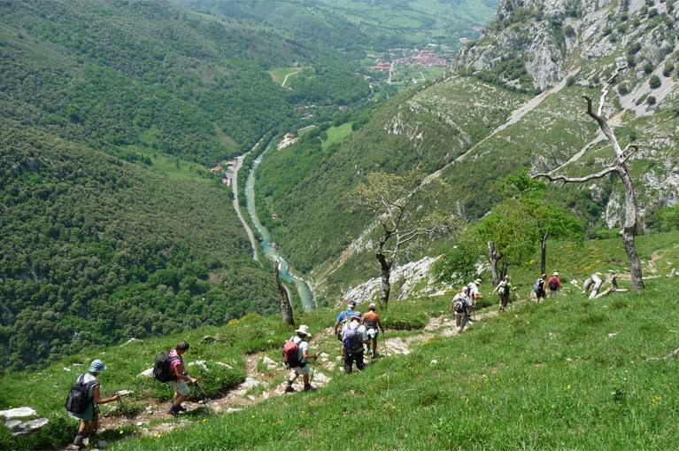 Circular walk in Cabrales