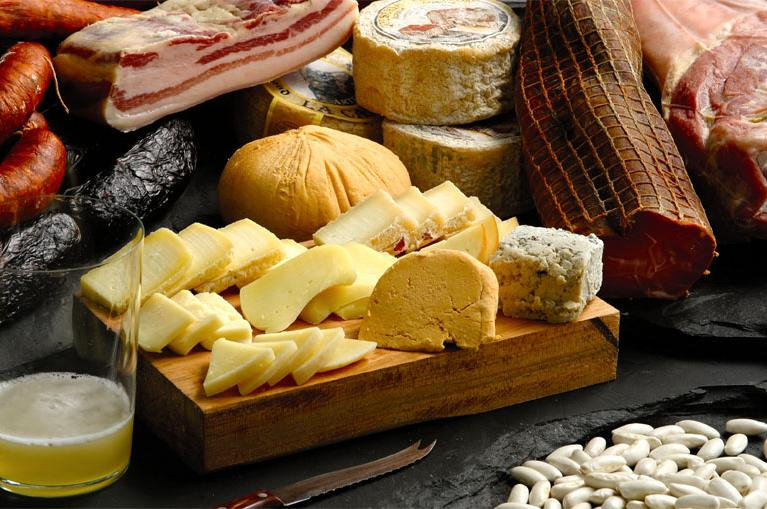 Cheeses from Asturias