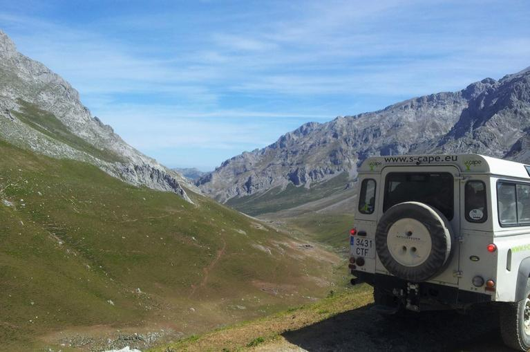 4 x 4 excursion Picos de Europa