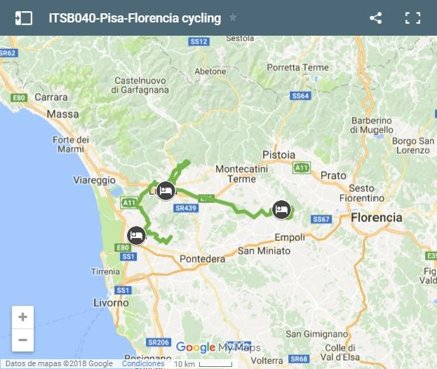 ITSB040-Pisa-Florencia cycling-map