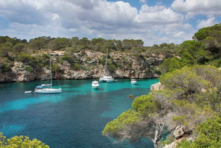Boats in Mallorca