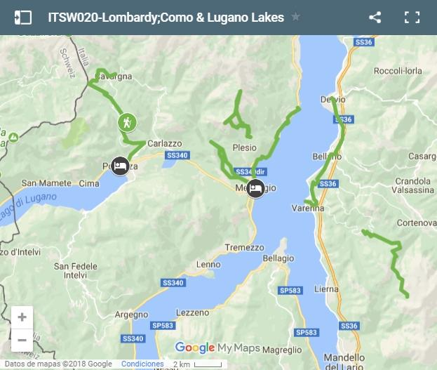 Walking holidays Italy • Lombardy Como & Lugano Lakes | 7 days