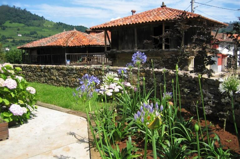 Traditional arquitecture of Asturias