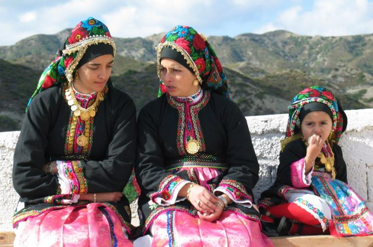 Traditional dresses Karpathos