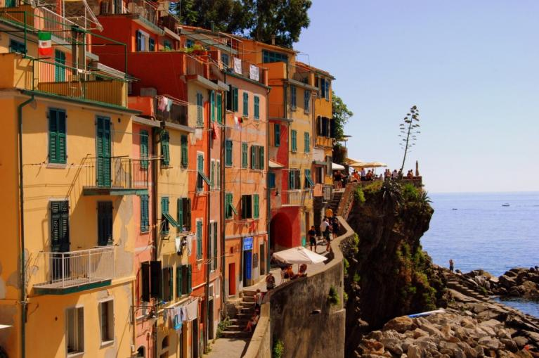 Vernazza houses