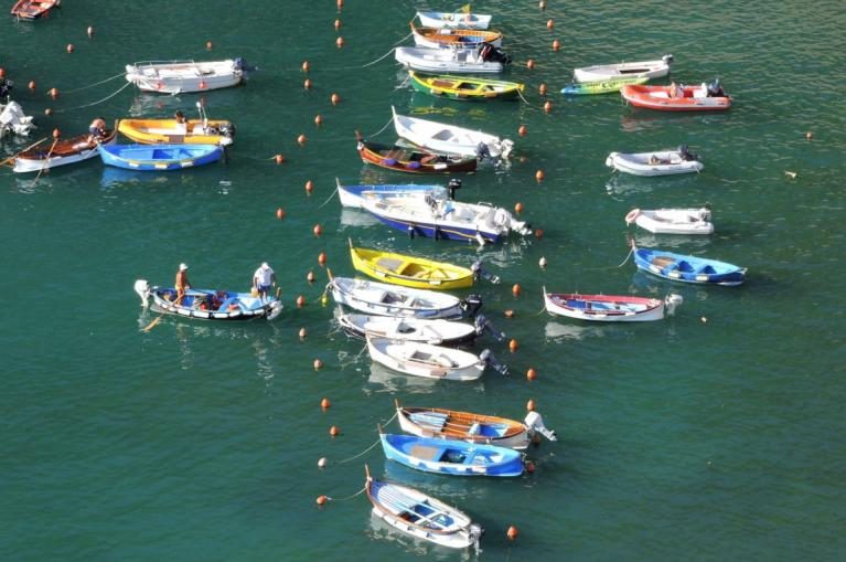 Vernazza boats