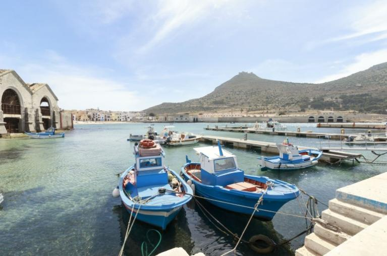 Boats in the port-Sicily