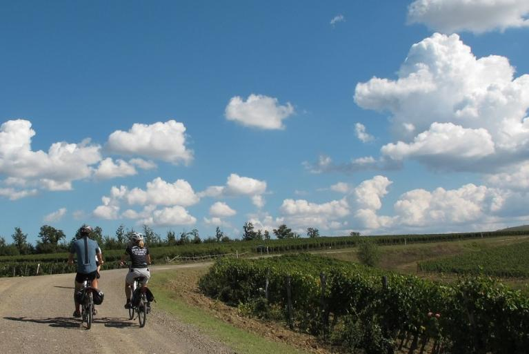 Via Francigena cycling tour