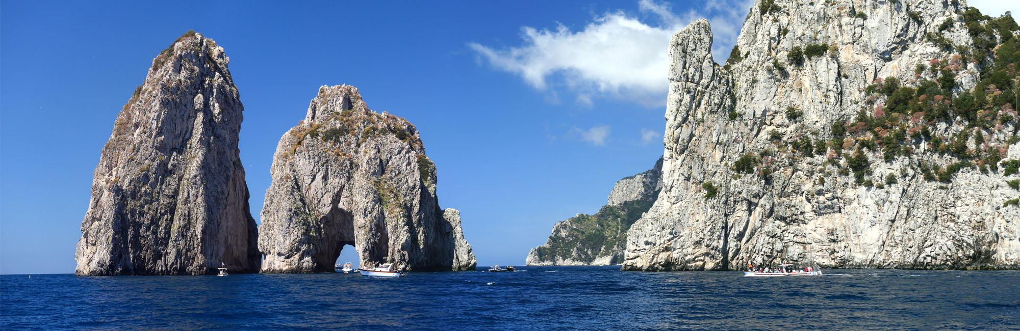 Amalfi Coast and Capri Island