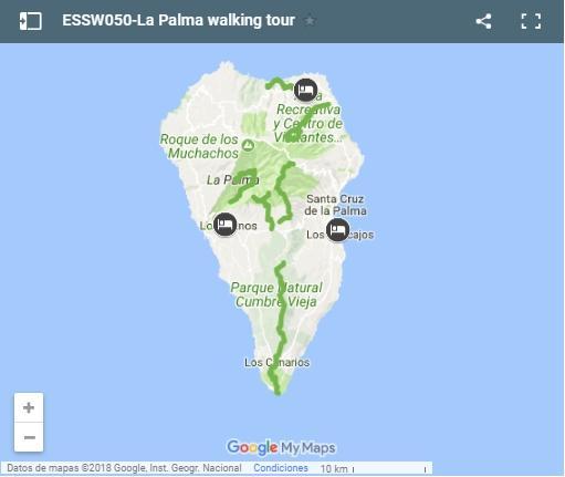 S-Cape Travel - La Palma walking tour - 8 dagen
