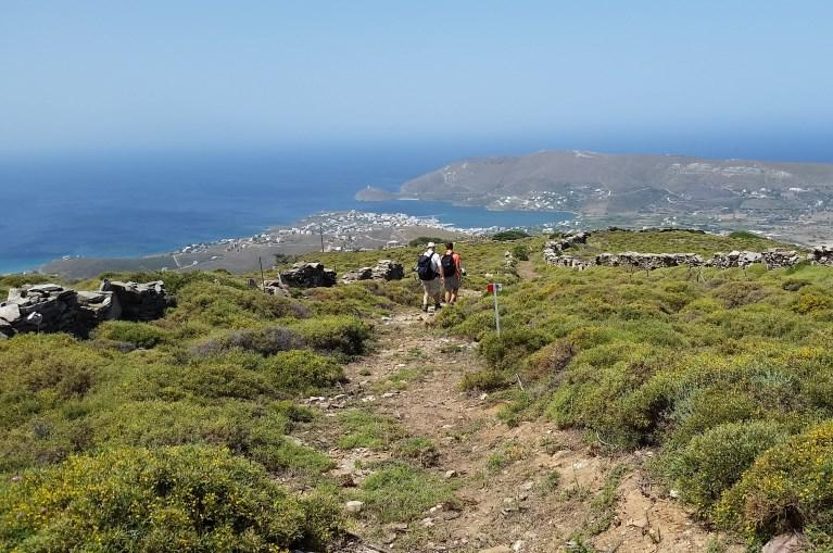 View on Gavrio (Andros)
