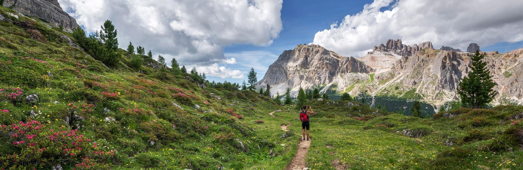 Walking routes in South Tyrol