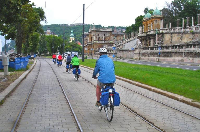 cyclists in Vienna