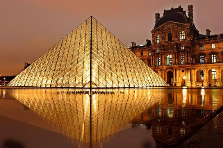 Louvre Museum in Paris