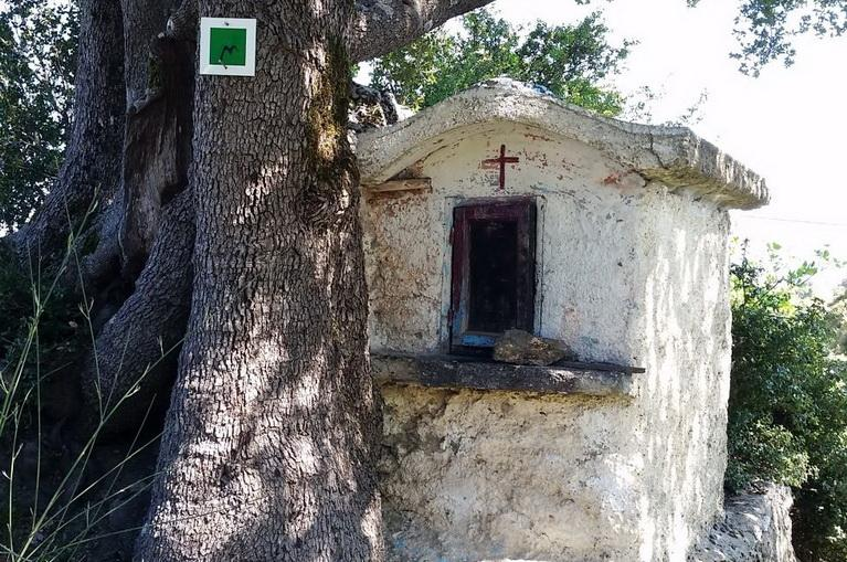 Shrine near Valtesiniko